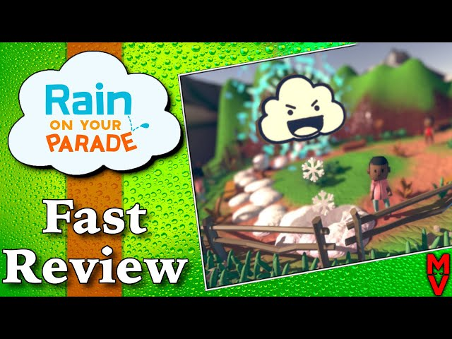 Rain On Your Parade Game Review || Buys or Pass || MumblesVideos PC, Mac, Nintendo Switch, Xbox