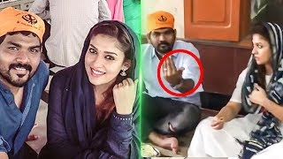 CUTE : Nayanthra and Vignesh Shivn cute Moments from their Latest Trip