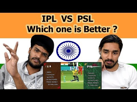 Indian reaction on IPL VS PSL | Which one is better | Swaggy d thumbnail