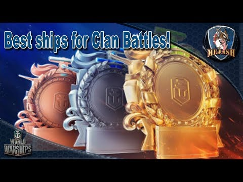 Clan Battles: Best ships for Clan Battles!