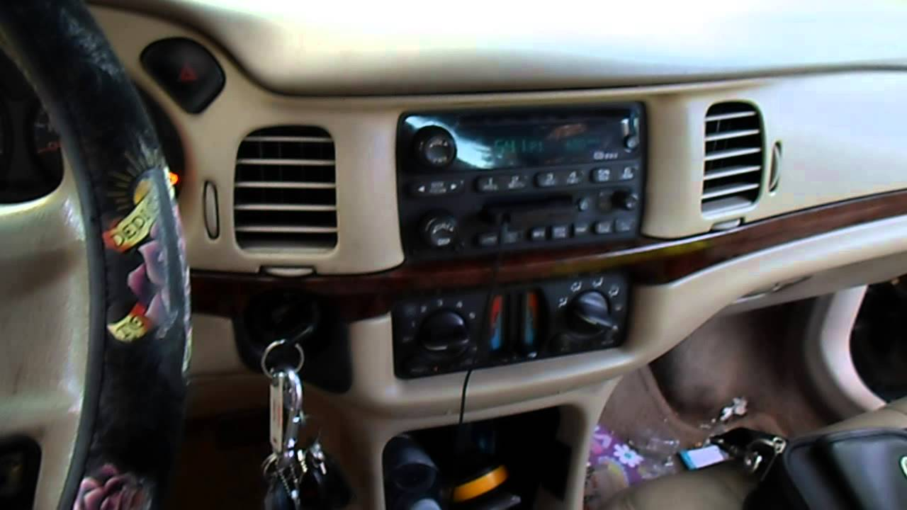 2002 Chevy Cavalier Factory Radio Wiring Diagram For Caravan Electric Brakes Impala No Sound And Door Chime Fix Vid1 Youtube