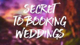 SECRET To Booking Wedding Photography Meetings
