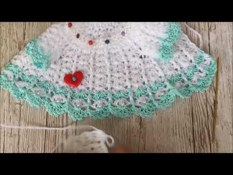 Puppenkleid Selber Häkeln Puppe 43 Youtube