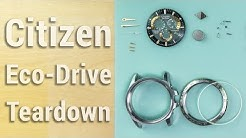 Tearing Down a Radio Controlled Citizen Eco-Drive