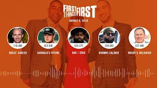 First Things First Audio Podcast (8.6.19) Cris Carter, Nick Wright, Jenna Wolfe | FIRST THINGS FIRST