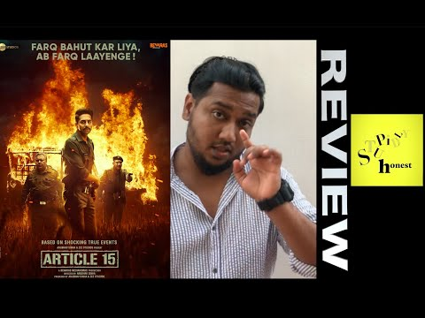 Article 15 | Movie Review | Malayalam | Ayushmann Khurrana | Anubhav Sinha | Isha Talwar