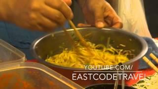 Northern Thai Spicy Noodle Salad Thai  Streetfood