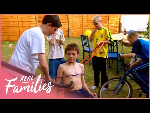 What Would Happen If Ten Boys Were Left To Live Alone Together? | Boys Alone | Real Families