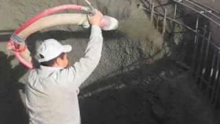 Video still for Reed Gunite Machine