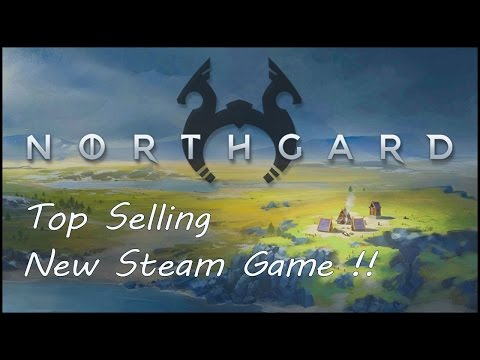 Northgard early gameplay !! Top Seller Steam New Game !! |