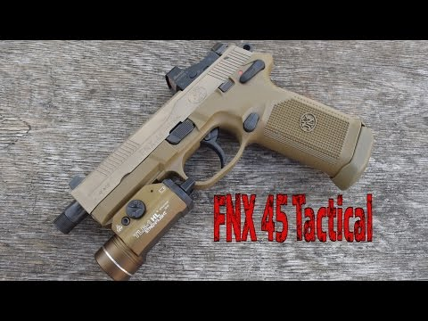 FNX 45 Tactical...Ultimate Home Defense and Zombie 45!!!