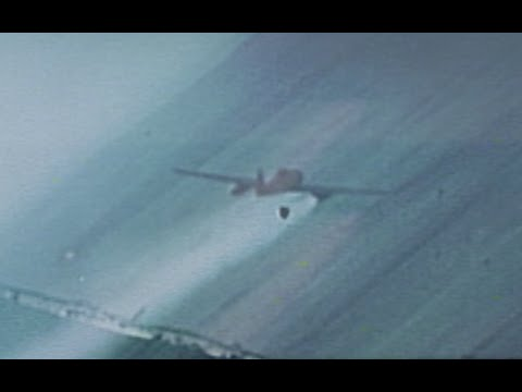Messerschmitt Me-262 Hit & Shot Down by U.S. Fighter