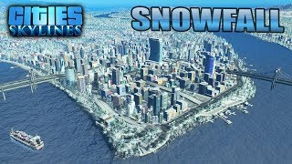 Cities Skylines PS4 Edition Snowfall Expansion Pack Season Pass Update