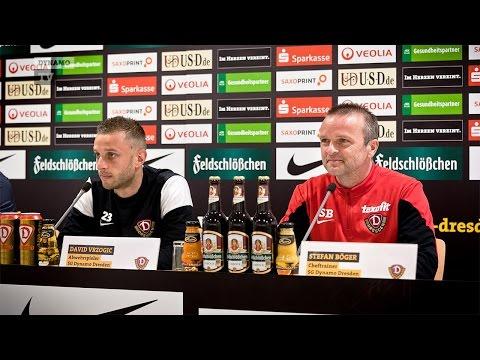 15. Spieltag | MSV - SGD | Pressekonferenz vor dem Spiel