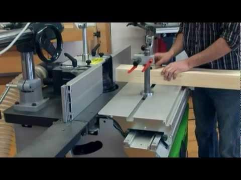 видео: Фрезерный оконный комплект от felder