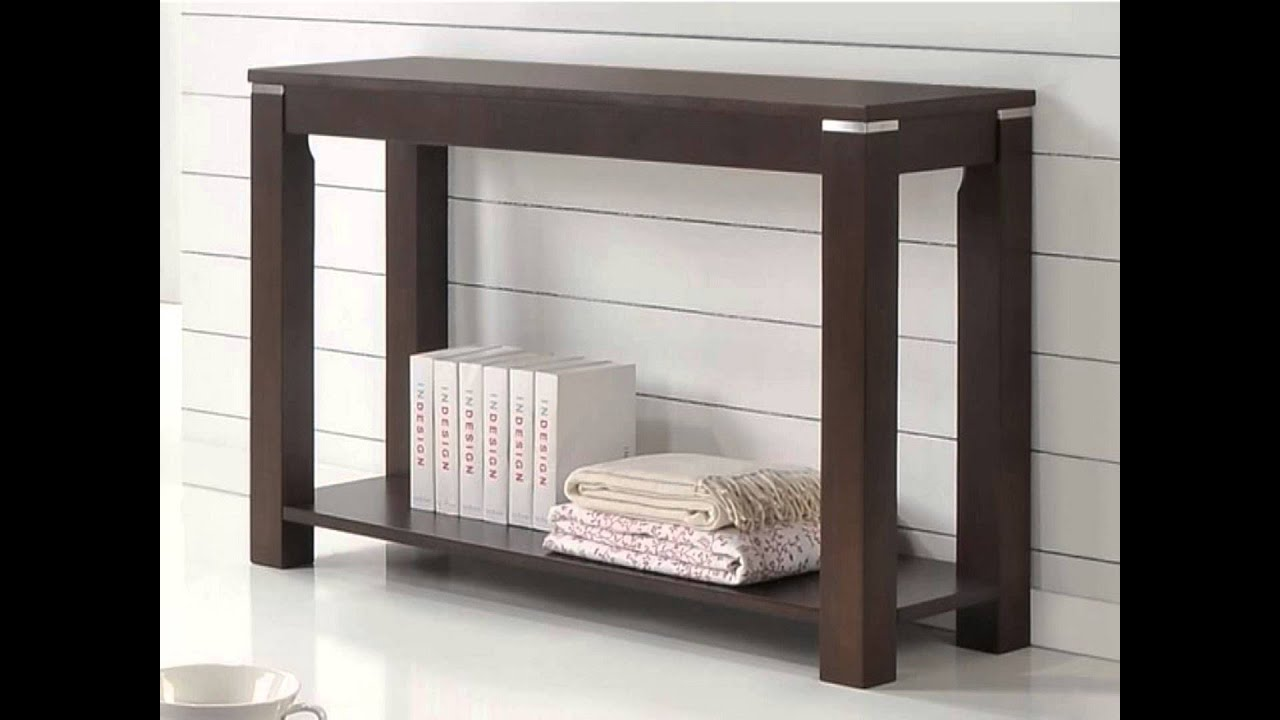 10 Cool And Contemporary Sofa Table Designs   YouTube