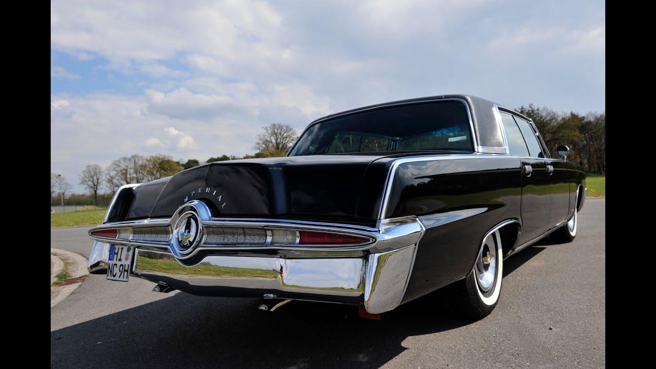 Chrysler Imperial 1965 Limousine Hardtop Top Restauriert