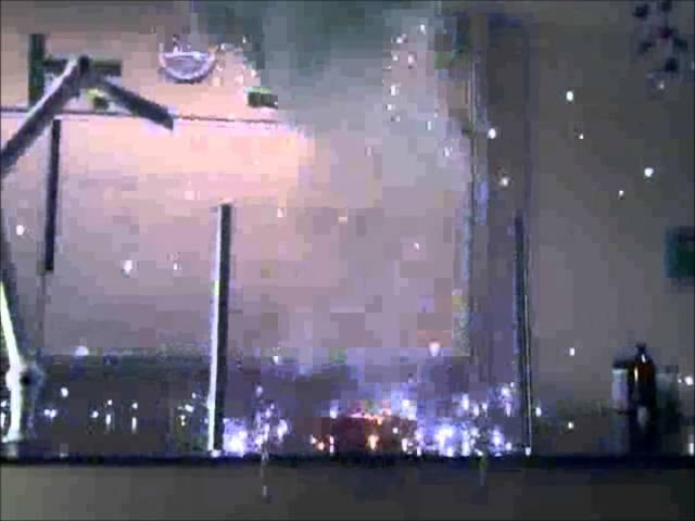 Demonstrationsforsøg: Blitzpulver