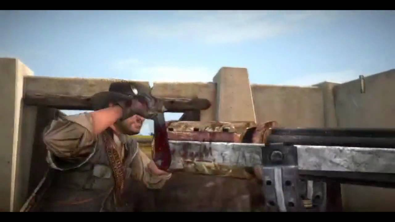 red dead redemption how to get guns early