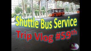 Trip VLog #59th Shuttle Bus Free Service To Masjid Al Haram Saudi Arab #trt