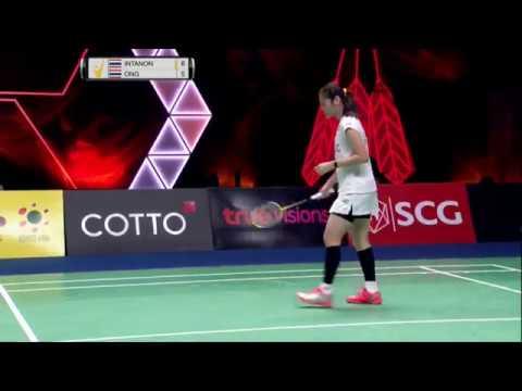 SCG Thailand Open 2017 | Badminton F M2-WS | Rachanok Intanon vs Busanan Ongbamrungphan