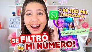 LES DOY MI NÚMERO DE TELÉFONO!! 😱 LO FILTRÓ OSO 🐻 | Leyla Star 💫