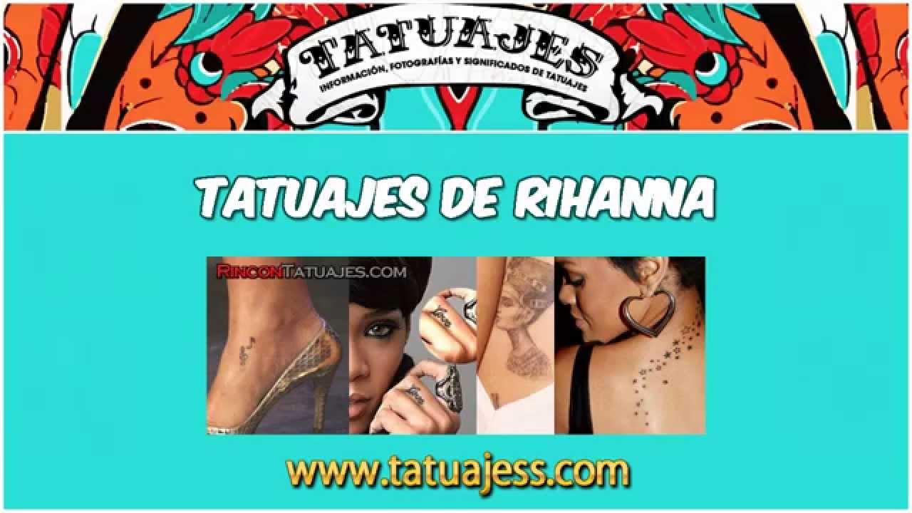 Cuales Son Los Tatuajes De Rihanna tatuajes de rihanna » ideas y fotografías
