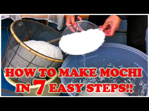 How To Make Mochi in 7 Easy Steps - YouTube