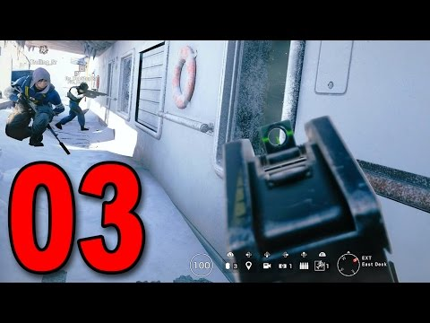 Rainbow Six Siege - Part 3 - I'm on a Boat!