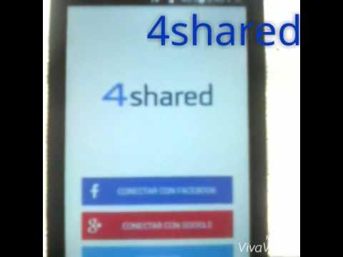Como crear una cuenta 4shared | ANDROID |