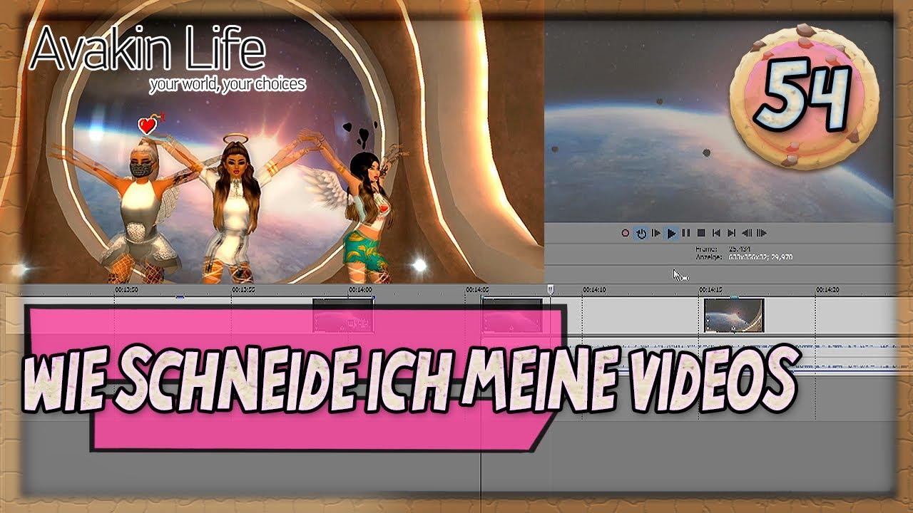 Avakin Life 😎 Wie Schneide Ich Meine Videos 😎 German