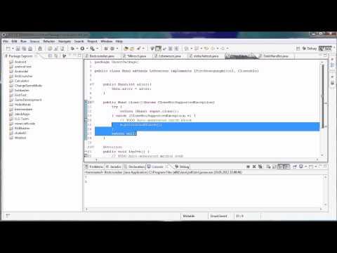 Java Tutorial 57 - Ausnahmebehandlung Mit Throws