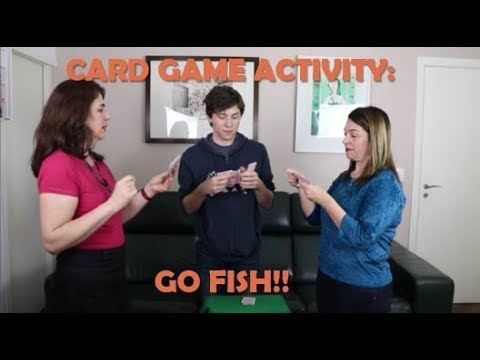 Card Game Activity: Go Fish!