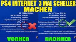 PS4 INTERNET VERBINDUNG 3 MAL SCHNELLER MACHEN