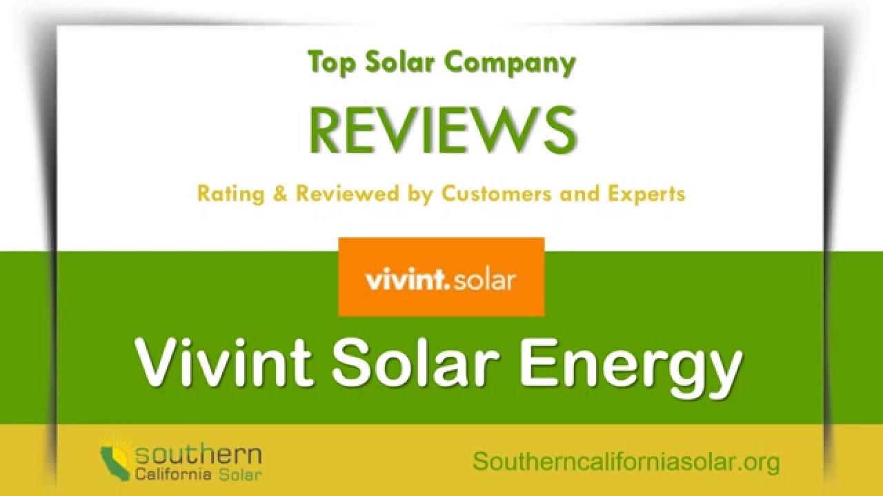 Vivint solar reviews california - Vivint Solar Panels Review Make Your Own Electricity