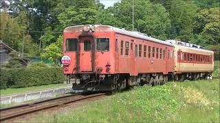 <惜別たらこ> キハ52+28 いすみ鉄道