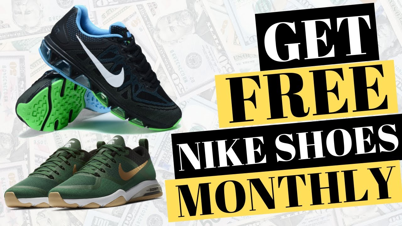 Perforar Derivar Objetado  GET FREE NIKE SHOES EVERY FEW MONTHS AS A NIKE SHOE TESTER - YouTube