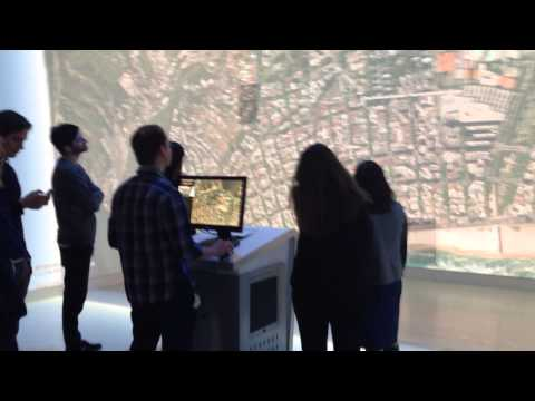 Google Maps room at Google HQ, Mountain View, CA, February 2014