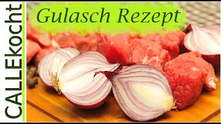 Gulasch kochen nach Omas Rezept | Cooking goulash according to Grandma's recipe