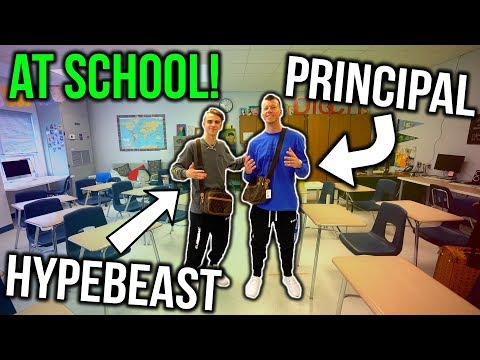 Turning my High School Principal into a Hypebeast! ($1000+ Outfit)