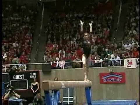 Courtney Kupets BB 2006 vs Utah