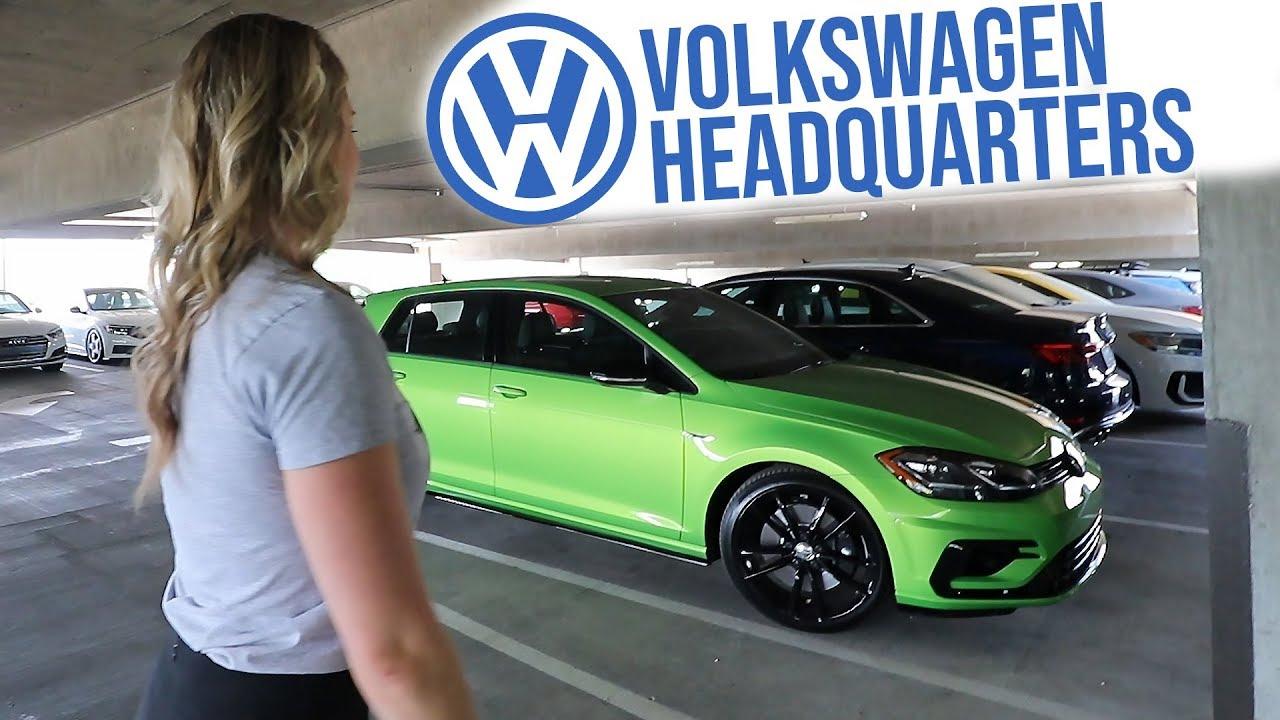 Vw Of America >> Vw Hq Parking Garage Tour And Tcr Gti Walkaround