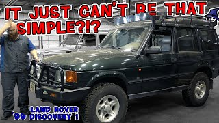How can such a simple repair cause huge problems on this '99 Land Rover Discovery? CAR WIZARD knows