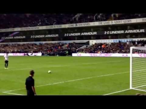 Paulinho penalty Tottenham VS Hull