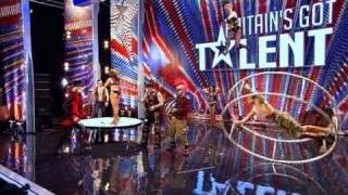 The Circus of Horrors - Britain's Got Talent 2011 audition - itv.com/talent - UK Version