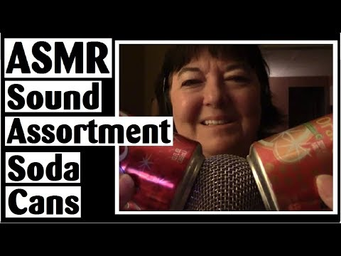 ASMR Sound Assortment - Soda Cans - Soft & Harsh Metal Sound