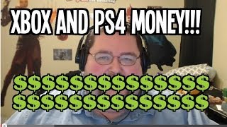 Getting Paid by Xbox and Playstation