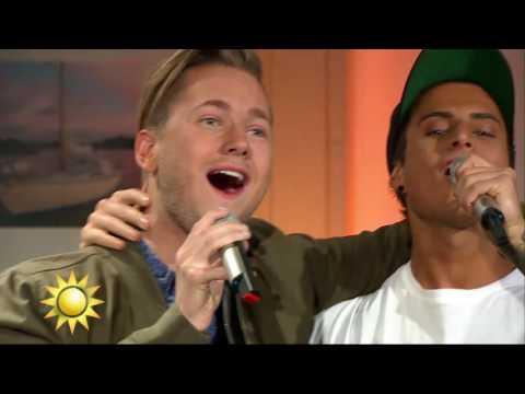 """Samir & Viktor: """"Kung"""" - Nyhetsmorgon (TV4)"""