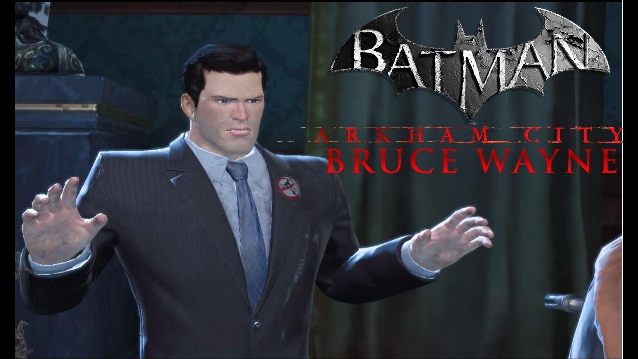 Batman: Arkham Origins - Arkham City Bruce Wayne