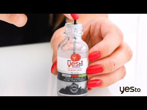 How To Use The Yes To Triple Threat Acne Treatment Kit